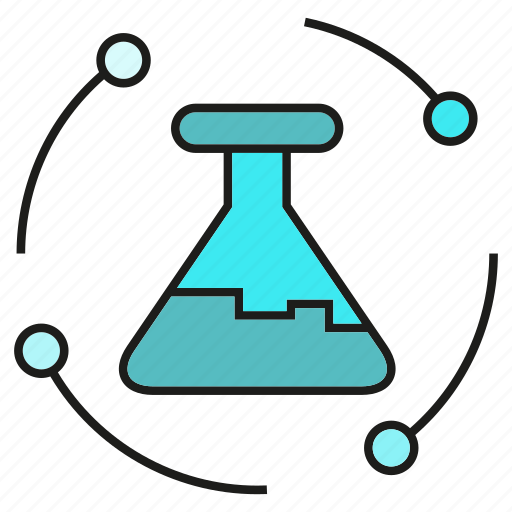 flask, lab, science, test tube, tube, vitro icon