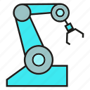auto, control, robot, robotic arm icon