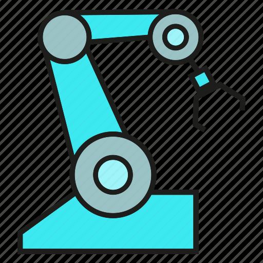 auto, control, robot, robotic arm icon