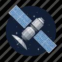 artificial, communication, dish, satellite icon