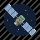 artificial, radio, satellite, tracking icon