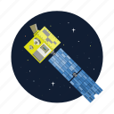 artificial, satellite, signal, system icon