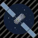 artificial, satellite, spacecraft, telecom icon