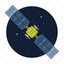 artificial, gps, satellite, space icon