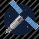 artificial, military, satellite, spy icon