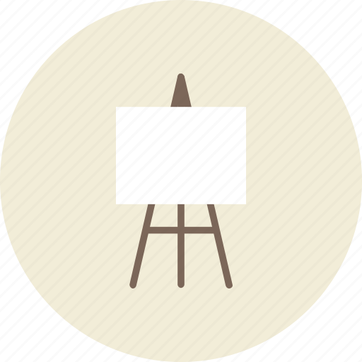 Art Board Draw Frame Painter Tool Tripod Icon