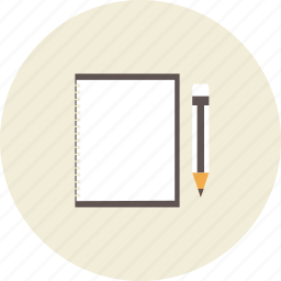 art, book, diary, draw, painter, pencil, tool icon
