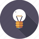 artistix, bulb, creativity, idea, light, lightbulb icon