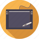 artistix, creative, design, device, graphics, pen, tablet icon