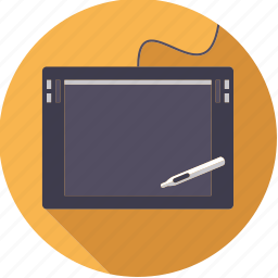 artistix, creative, design, device, graphics, pen, tablet icon