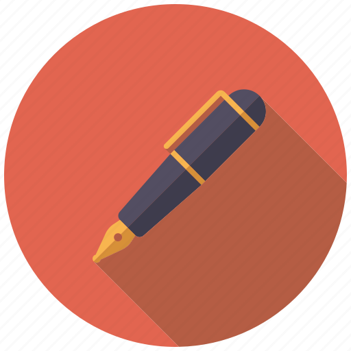 artistix, fountain pen, pen, stationery, writing icon