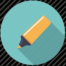 artistix, felt tip pen, highlighter, marker, stationery, utensil icon