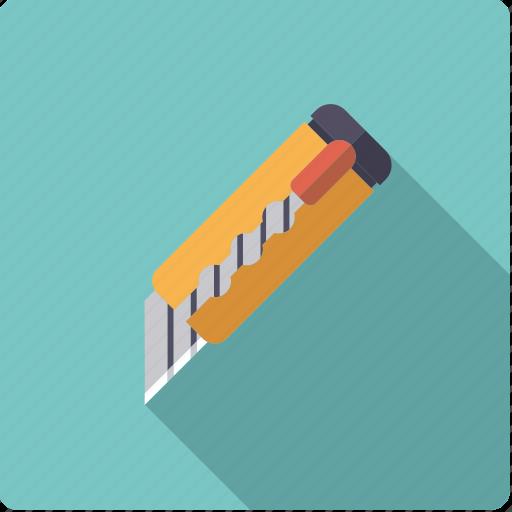 blade, box, cutter, knife, utensil icon