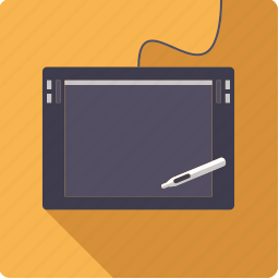 design, graphics, pen, tablet icon