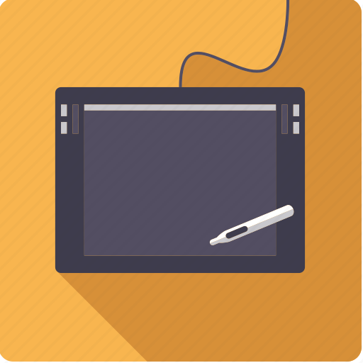 design, graphics, pen, tablet icon