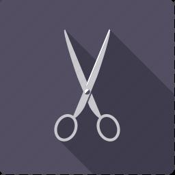 cutting, design, scissors, utensil icon