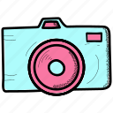 art, arts, craft, crafts, doodle, hobby, photocamera icon