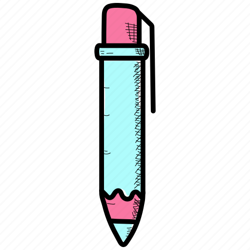 ballpoint, fountain, pen icon