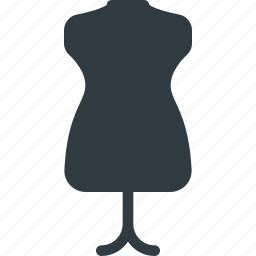 clothes, sewing, stand, tailoring icon