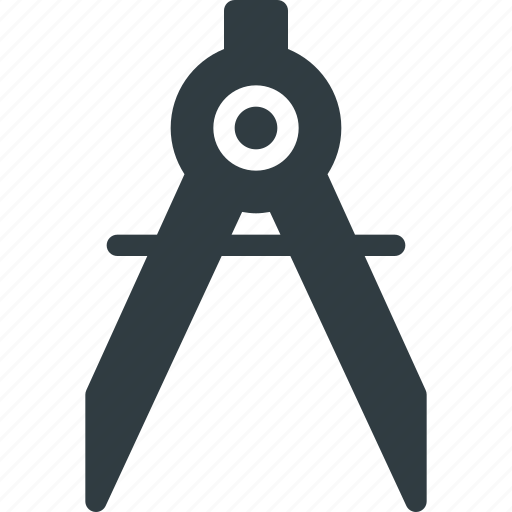 Compass, crafts, maths, protracter, tools icon - Download on Iconfinder