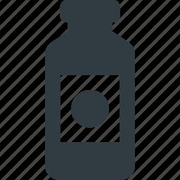 art, bottle, paint, tube icon