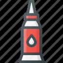 art, craft, design, glue, paper icon