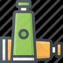 art, paint, tube, tubes icon