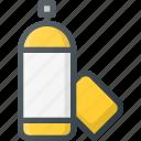 art, bottle, paint, spraypaint icon
