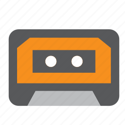 audio, cassette, music, song, sound icon