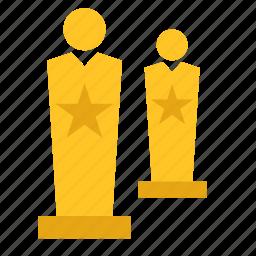 art, award, cinema, film, movie, oscar, oscars icon