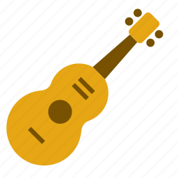 acoustic, art, guitar, instrument, music, musical, spanish icon
