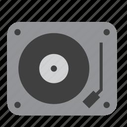 art, music, musical, turntable, vinyl icon