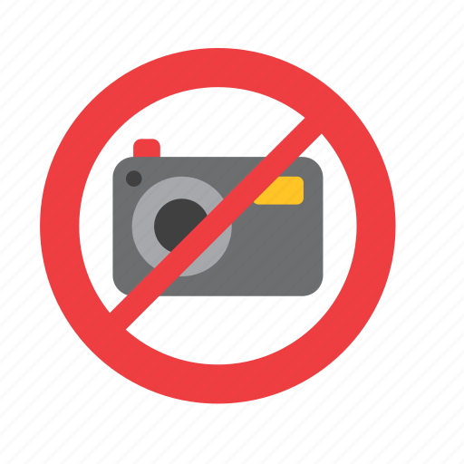 forbidden, museum, no, not allowed, photo, photography, sign icon