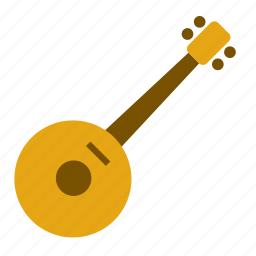 art, guitar, instrument, mandolin, music, musical, sitar icon