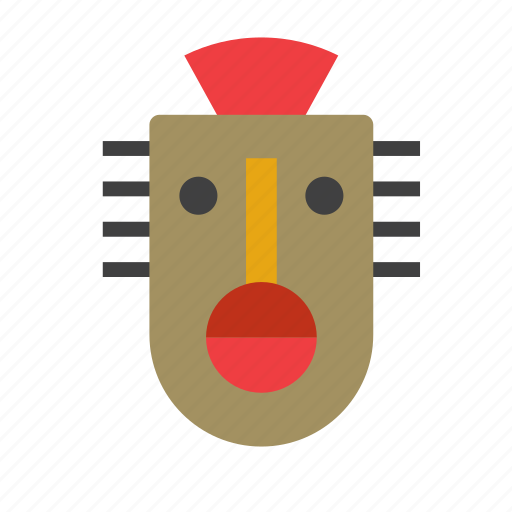 africa, african, art, crafts, mask, tribal, tribe icon
