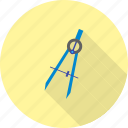 drawing, protractor, ruler, set, square, tool, tools icon
