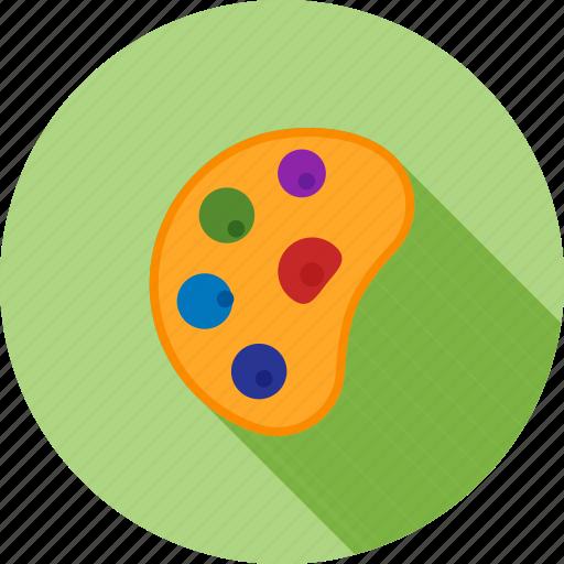 art, color, colorful, design, green, palette, watercolor icon