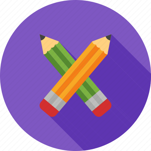 eraser, office, pencil, pencils, sharp, wood, write icon