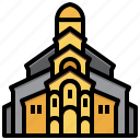 tbilisi, georgia, architecture, city, building