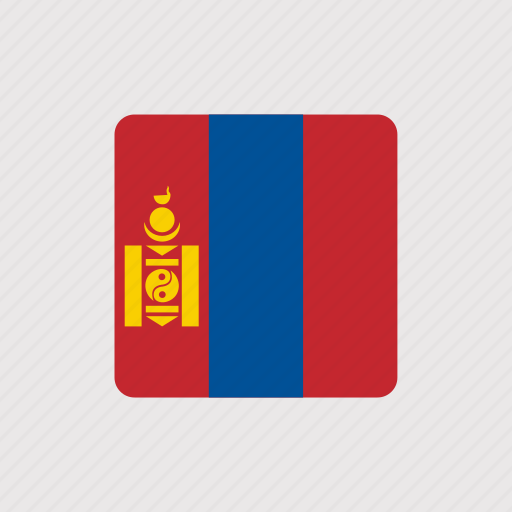 asia, country, flag, flags, mongolia, nation, national icon