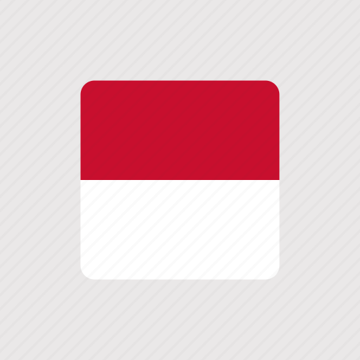 asia, country, flag, flags, indonesia, nation, national icon