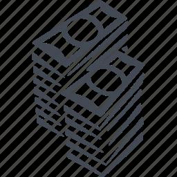 bill, cash, casino, dollar, money icon