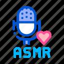 asmr, autonomous, meridian, microphone, phenomenon, sensory, sound icon