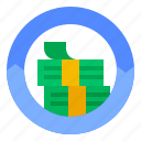 assets, banknote, current, money icon