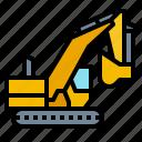 farm, machinery, mechanism, plant icon