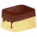 chocolate bar, chocolate candy, dessert, peanut butter chocolate, sweet treats icon