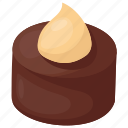 assorted chocolate, chocolate candy, chocolate toffee, chocolate truffle, sweet food icon