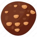 assorted chocolate, butternut crunch, chocolate, nuts chocolate, sweet treat icon