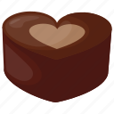 assorted chocolate, chocolate candy, confectionery, heart chocolate, sweet food icon