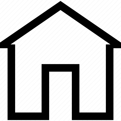 architecture, building, estate, home, house, real icon